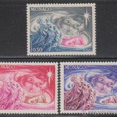 Sellos: MONACO IVERT 900/2, NAVIDAD 1972, NUEVO ***. Lote 46175116