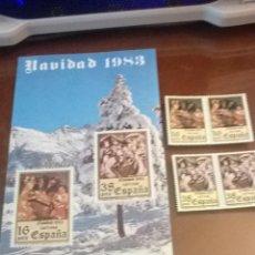 Sellos: SELLOS NAVIDAD 1983 ESPAÑA. Lote 46965828