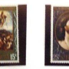 Sellos: SELLOS ST. LUCIA 1969. NAVIDAD. 4 VALORES NUEVOS.. Lote 46990813