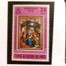 Sellos: SELLOS TURKS Y CAICOS 1976. NAVIDAD. 3 VALORES NUEVOS.. Lote 47059034
