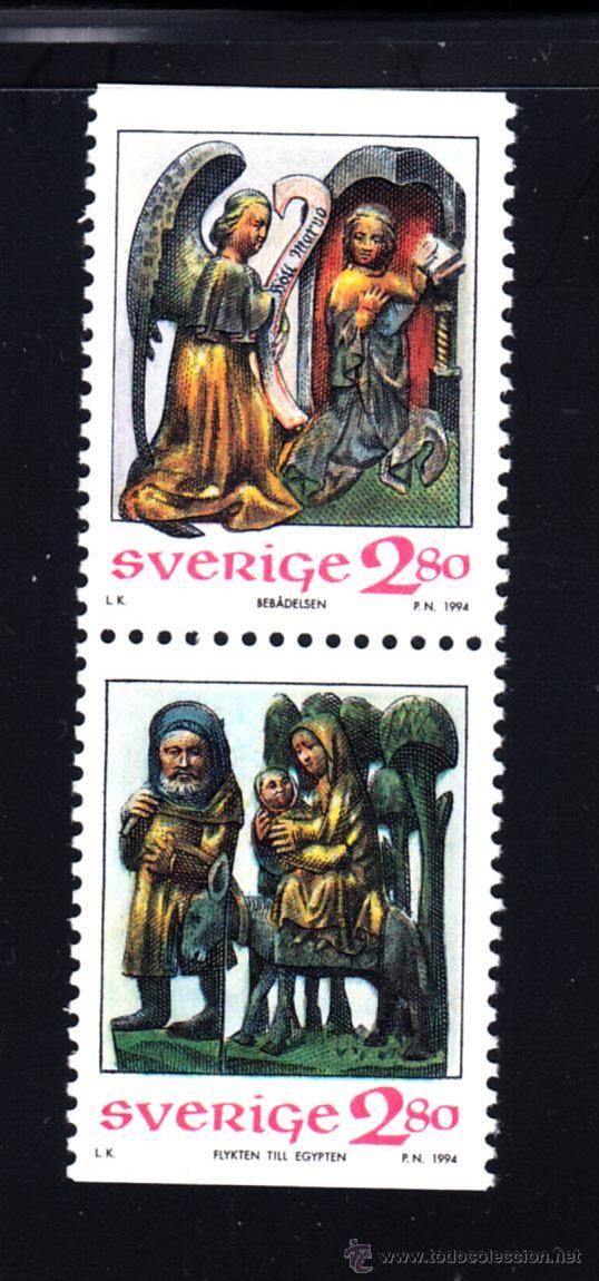 SUECIA 1839/40** - AÑO 1994 - NAVIDAD - ESCULTURAS RELIGIOSAS (Sellos - Temáticas - Navidad)