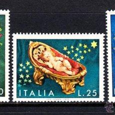 Sellos: ITALIA 1114/16** - AÑO 1972 - NAVIDAD. Lote 209069126