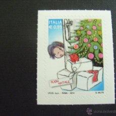 Sellos: ITALIA AÑO 2014. NAVIDAD. . Lote 49345741