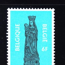 Sellos: BÉLGICA 1959** - AÑO 1979 - NAVIDAD - VIRGEN DE LA IGLESIA DE FOY NOTRE DAME. Lote 112491824