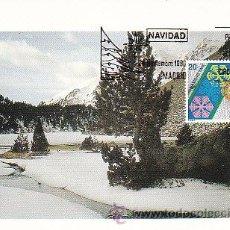 Sellos: EDIFIL 2977, NAVIDAD 1988,, TARJETA MAXIMA PRIMER DIA DE 24-11-1988. Lote 52539181