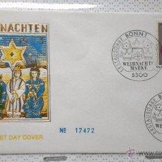 Sellos: ALEMANIA 1983 SOBRE PRIMER DIA CIRCULACION RELIGION- NAVIDAD- CHRISTMAS- NACIMIENTO- BELEN- FDC. Lote 54784267