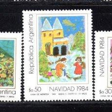 Sellos: ARGENTINA 1446/48** - AÑO 1984 - NAVIDAD. Lote 57944356