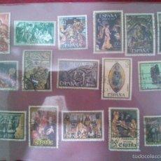 Sellos: SELLOS TEMATICA NAVIDAD (ESPAÑA) USADOS.. Lote 58346864