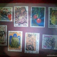Sellos: SELLOS TEMATICA NAVIDAD II (ESPAÑA) USADOS.. Lote 58346895