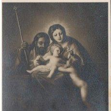 Sellos: EDIFIL Nº 1253, LA SAGRADA FAMILIA DE GOYA (NAVIDAD 1959), TARJETA MAXIMA DE PRIMR DIA DE 10-12-1959. Lote 97199203