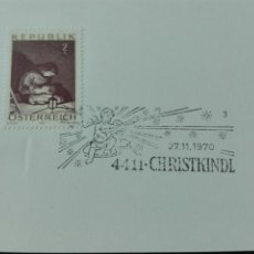 Sellos: AUSTRIA NAVIDAD 1970. Lote 73931274