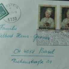 Sellos: AUSTRIA NAVIDAD 1971. Lote 73931682