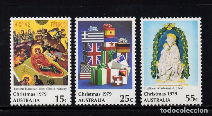 AUSTRALIA 681/83** - AÑO 1979 - NAVIDAD - PINTURA RELIGIOSA (Sellos - Temáticas - Navidad)