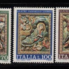 Sellos: ITALIA 1246/48** - AÑO 1975 - NAVIDAD. Lote 76818263