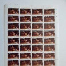 Sellos: PLIEGO. NICARAGUA 12.12.1977. NAVIDAD 77. BALLET EL CASCANUECES. FIESTA NAVIDEÑA. Lote 86727936