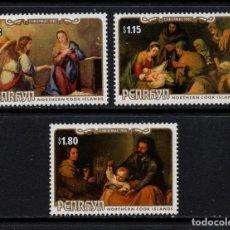 Sellos: PENRHYN 317/19** - AÑO 1985 - NAVIDAD - PINTURA - OBRAS DE MURILLO. Lote 155462397