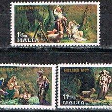 Sellos: MALTA 554, , NAVIDAD 1877, NUEVO ***. Lote 91477410