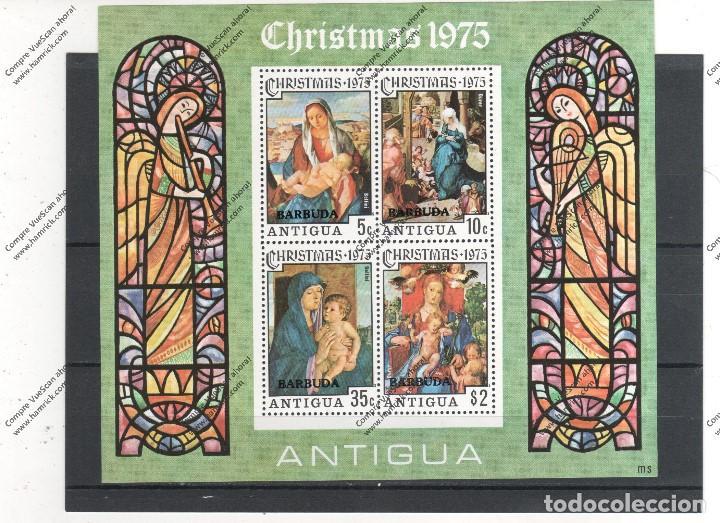 ANTIGUA Y BABUDA Nº HB 23 (**) (Sellos - Temáticas - Navidad)