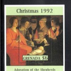 GRANADA HB 298** - AÑO 1992 - NAVIDAD - PINTURA RELIGIOSA - OBRA DE LA TOUR