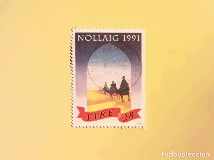 EIRE - NAVIDAD 1991 - REYES MAGOS DE ORIENTE. (Sellos - Temáticas - Navidad)