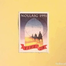 Timbres: EIRE - NAVIDAD 1991 - REYES MAGOS DE ORIENTE.. Lote 96529755