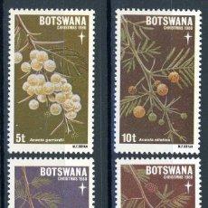 Sellos: BOTSWANA 1980 IVERT 410/3 *** NAVIDAD - FLORA - FLORES DIVERSAS. Lote 102063123