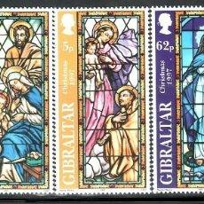SELLOS NAVIDAD GIBRALTAR 1997 817/21 5v.