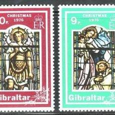 SELLOS NAVIDAD GIBRALTAR 1976 342/45 4v.