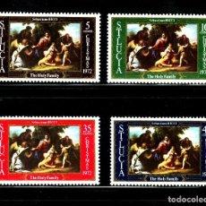 Sellos: SELLOS NAVIDAD ST. LUCIA 1972 322/25 4V.. Lote 104702227
