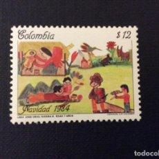Sellos: COLOMBIA Nº YVERT 884*** AÑO 1984. NAVIDAD. Lote 113031755