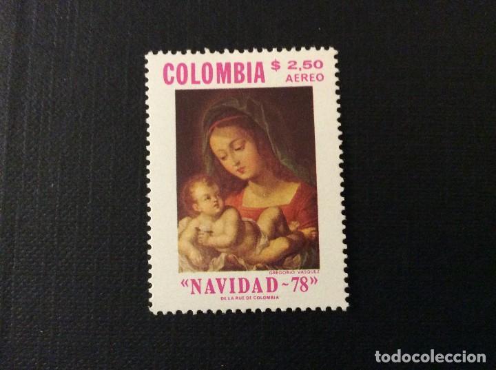 COLOMBIA Nº YVERT AEREO 634*** AÑO 1978.NAVIDAD. PINTURA DE ARCE Y CEBALLOS (Sellos - Temáticas - Navidad)
