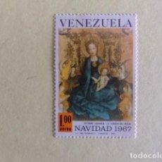 Sellos: VENEZUELA 1967 LA VIRGEN DEL ROSAL POR ESTEBAN LOCHNER YVERT PA 928 ** MNH. Lote 116338419