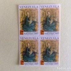 Sellos: VENEZUELA 1967 LA VIRGEN DEL ROSAL POR ESTEBAN LOCHNER YVERT PA 928 ** MNH. Lote 116338499