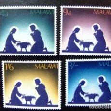 Sellos: MALAWI EX NYASSALAND NAVIDAD NOËL CHRISTMAS YVERT 76 / 79 ** MNH . Lote 116684291