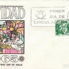 Sellos: EDIFIL 1692, NAVIDAD 1965, NACIMIENTO DE MAYNO, PRIMER DIA DE 1-12-1965 SOBRE DE ALFIL O FLASH. Lote 117544671