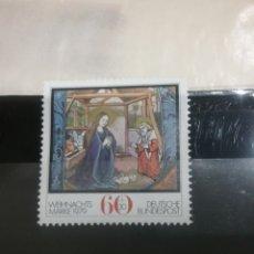 Sellos: SELLOS ALEMANIA, R. FEDERAL NUEVOS/1979/VIRGEN/NACIMIENTO/CONSTUMBRES/RELIGION/NIÑO/. Lote 135257030