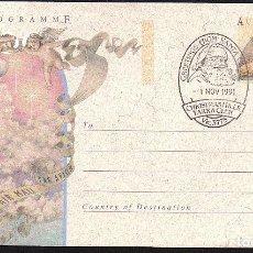 Sellos: AEROGRAMA AUSTRALIA - NAVIDAD 1.991. MATASELLOS PRIMER DIA.. Lote 136837742