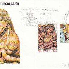 Sellos: EDIFIL 2867/8, NAVIDAD 1986, PRIMER DIA 19-11-1986 SFC. Lote 155242898