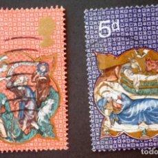 Sellos: 1970 GRAN BRETAÑA NAVIDAD. Lote 142612642