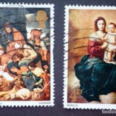 Sellos: 1967 GRAN BRETAÑA NAVIDAD PINTURAS. Lote 142613678