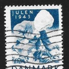 Selos: DINAMARCA - VIÑETAS DE NAVIDAD. Lote 143283634
