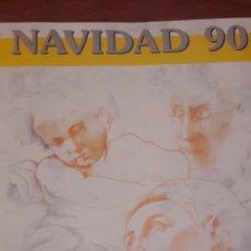 Sellos: DOCUMENTO FILATELICO NAVIDAD 1990 N 15 CORREOS. Lote 146498346