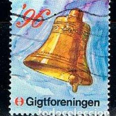 Sellos: AUSTRIA, VIÑETA ANTITUBERCULOSOS NAVIDAD 1996, CAMPANA. Lote 146925722