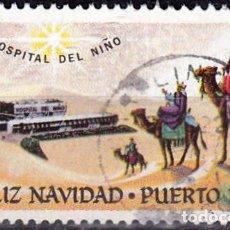 Timbres: PUERTO RICO - VIÑETA FELIZ NAVIDAD - HOSPITAL DEL NIÑO. Lote 148134562