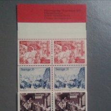 Sellos: SELLOS SUECIA 708 / 12 NAVIDAD CARNET COMPLETO DOBLE. Lote 148371884