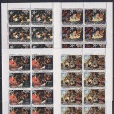 Sellos: BURUNDI 2011 - 4 HB - 10 SERIES COMPLETAS - NAVIDAD 2011 - NUEVAS, SIN FIJASELLOS. Lote 152554378