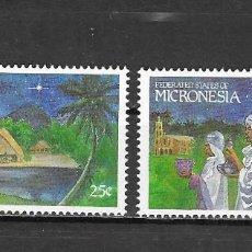 Sellos: MICRONESIA Nº 131 AL 132 (**). Lote 183233228