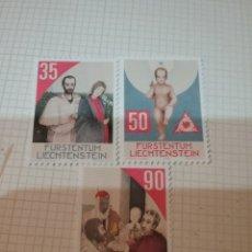 Sellos: SELLOS P. LIECHTENSTEIN NUEVOS/1988/NAVIDAD/REYES MAGOS/NIÑO/RELIGION/CONSTUMBRES/VIRGEN/. Lote 165552110