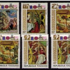 Sellos: TOGO 1972 - NAVIDAD - NOEL - CHRISTMAS - YVERT Nº 760/762 + A 193/195**. Lote 171538749