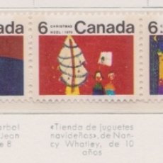 Sellos: CANADA - NAVIDAD - 1970 - SERIE COMPLETA 12V (NR. YVERT: 439/50). Lote 172779564